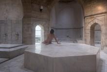 Man In Turkish Bath