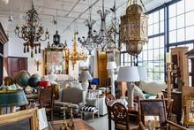 Antique Shop Showroom In Industrial Space