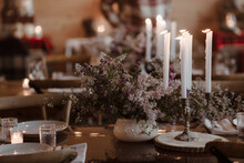 Candlelit Fall Dinner