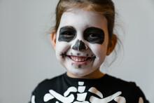 Happy Little Skeleton Smiling For Camera