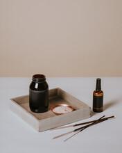 Incense Sticks And Essential Oils