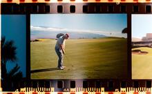 Man Playing Golf In Hawaii