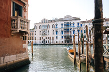 Old Buildings Along Abandon Canals In Venice