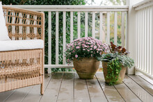 Southern Fall Front Porch Decor