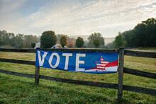 Rural Vote Sign