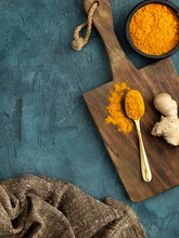 Turmeric And Spoon