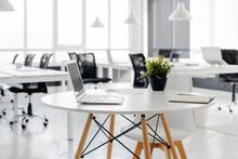 Modern Empty Bright Coworking