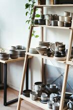 Professional Ceramist Studio.