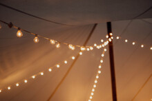 Lights Under And Tent
