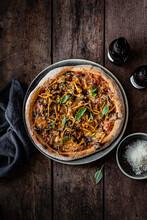 Homemade Autumn Pizza