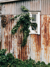 Rustic Corrugated Metal Wall