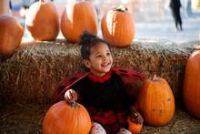 Toddler In Ladybug Costume