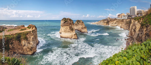 Photo Pigeon Rocks and Dalieh, Beirut - Lebanon
