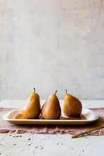 Dessert Poached Pears
