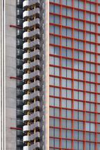 Modern Hotel Facade.