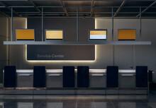 Service Center Desks In Airport