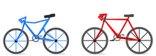 Bicycle Sport Race Illustration Vector
