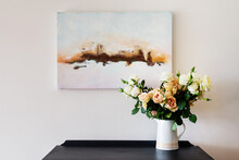 Flowers And Artwork