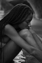 Nostalgic Black Woman
