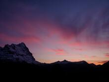 Eiger At Sunset