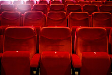 Red Theater Seats 3