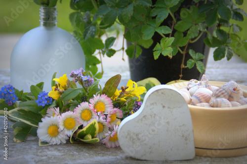 Fotomural décoration printanière romantique