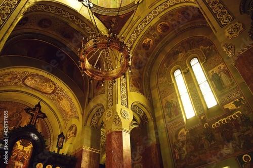 Obraz na plátně Arges Monastery a necropolis for the royal family