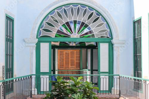 Casa de Los Arabes à La Havane, Cuba Fototapet