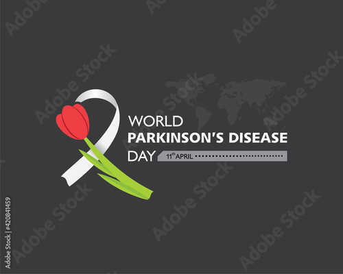 Tablou Canvas World Parkinson's disease Day observed on 11th April every year