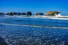 Rocky Coastline Bandon Oregon