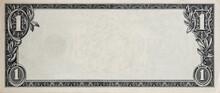 Modified Decorative One Dollar Bill Artwork