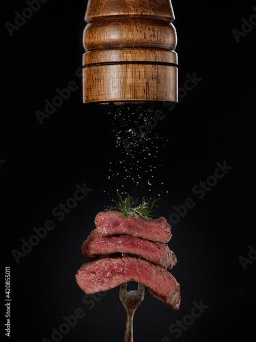 Valokuva Steak menu