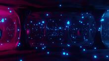 Abstract Alien Landscape Background 3d Render