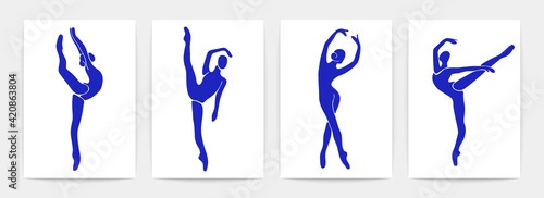 Photo Ballet dancers contemporary posters