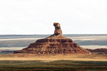 USA, Utah. Mexican Hat, Valley Of The Gods National Monument, Rooster Butte.