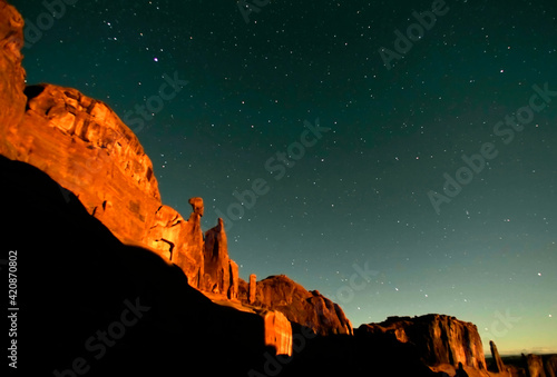 USA, Utah, Arches National Park Fotobehang