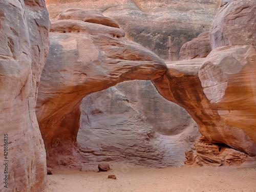 Fotografiet USA, Utah. Arches National Park, Sand Dune Arch