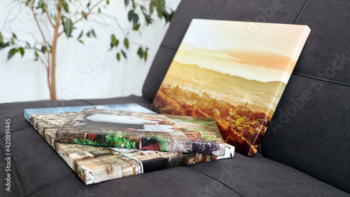 Fototapeta Canvas prints. Photo printed on canvas with gallery wrapping on stretcher bar obraz