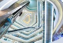 Shopping Mall Interior, Hong Kong