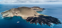 Volcanic Crater And Texture Of San Benedicto Island, Punta Baja, Baja California, Mexico