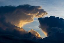 Dark Stormy Cloud Formation, Tsavo, Kenya