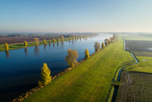 Overdiepse Polder, Protecting City And Surrounding Areas From High Water, Sprang-Capelle, Noord-Brabant, Netherlands