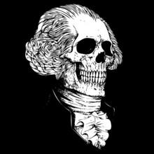 George Washington Skull
