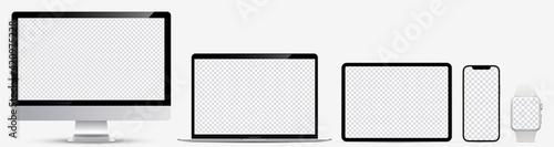 Fotografija Device screen mockup