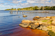 The Tranquil Water Of The Hardy Inlet Is Ideal For Fishing, Swimming, Boating Or Kayaking - Augusta, WA, Australia