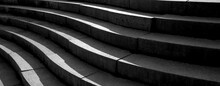 Abstract Architecture Design Of Cement Stairway