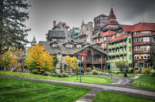 Historic Mohonk Mountain House In New Paltz New York