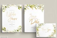 Watercolor Poppy Anemone Invitation Card