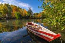 Boat At Pogradec, Lake Ohrid