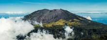 Panorama Of Turrialba Volcano